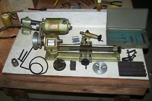 Unimat Db200 Cast Iron Lathe Mill Surface Grinder Engraver Drill Press