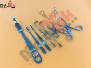 Orthopedic Knee Surgery Surgical Instruments Set Of 7 Pcs Excellent Quality