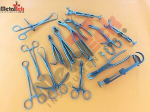 Small Bone Clamp Set Of 18 Pcs Orthopedic Instruments Excellent Quality