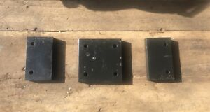 Caterpillar Cat Skid Steer B series Step Spacers Over The Tire Steel Tracks