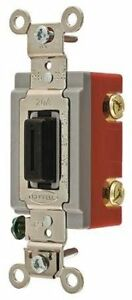 Hubbell Hbl1556l Momentary Toggle Single Pole Double Throw Lock 15 Amp
