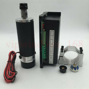 Cnc 600w Spindle Motor Er16 Dc 110v 13000rpm Power Supply mount Bracket Router