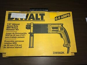 Dewalt Dw562k 7 8 22mm Sds Rotary Hammer Drill New