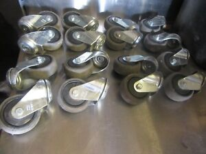 A29 Blickle Casters 3 Swivel lot Of 12