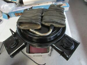 1978 1981 Corvette Dual Snorkel Air Cleaner Assembly 78 79 80 81