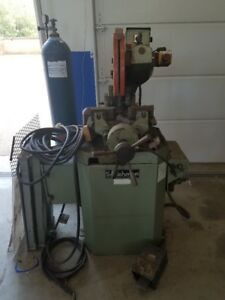 Scotchman Cpo275 Cold Saw With Extra Blades And Motor