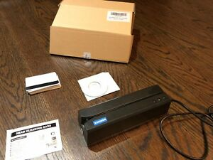Magnetic Card Reader encoder Including Program Disk And Unused Editable Cards