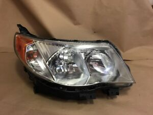 2009 2010 2011 2012 2013 Subaru Forester Right Rh Halogen Headlight Headlamp Oem