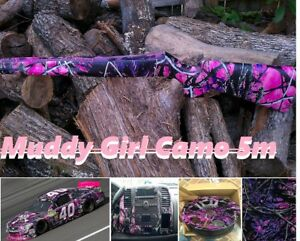 0 5 5m Hydrographic Film Water Transfer Printing Muddy Girl Camo Fast Shipping