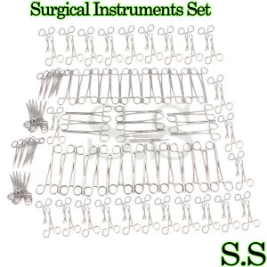182 Pieces Surgical Instruments Set