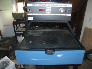 Nuarc 32 1k Mercury Exposure Unit Screen Printing plate Making parts Only