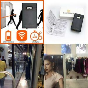 Display People Retail Store Fixtures Equipment Visitor Counter Wireless New