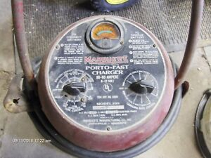 Rare Vintage Marquette Porto Fast Charger 6 12 Volt Battery Charger Model205