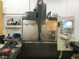 2011 Haas Vf 4 Cnc Vmc W 4th Axis Rotary Table