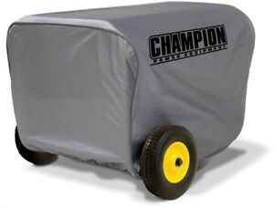 Champion Power Equipment Generator Cover Storage Large Weather Proof Vinyl Gray