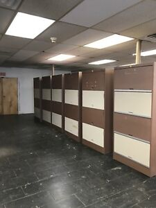 X Large Lateral Door Cabinet Storage Steel Very Good Condition 14 Available Lot