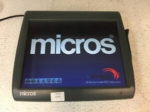 Micros Workstation 5a 400814 101 Pos Touchscreen Computer Poor Condi Tested