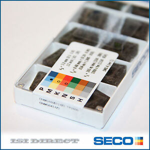 Cnmg 543 M3 Tp2500 Seco 10 Inserts Factory Pack