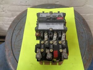 Westinghouse A200micac Size 1 Motor Starter 120 Volt Coil 765a840g01