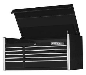 Extreme Tools Ex5510chbk Ex Professional Series 55 In 10 drawer Top Chest Black