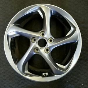 17 X7 Hyundai Veloster 2019 19 Oem Factory Alloy Wheel Rim Take Off 52910 J3050