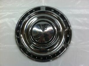 Vintage 1960 65 Pontiac Dog Dish Hubcap Good Condition