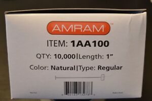 2 Amram 1 Standard Regular Attachments 20 000 Pcs 100 clip Amram Brand Sta