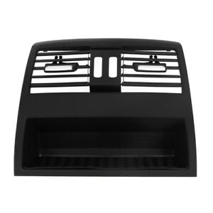 Center Console Rear Fresh Air Outlet Vent Grille Cover For Bmw 5 New