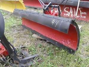 7 6 Ft Western Poly Power Angle Snow Plow Snowplow 4