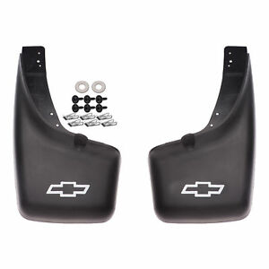 Oem New Rear Splash Guards Mud Flaps 1999 2007 Chevrolet Gmc 12498342