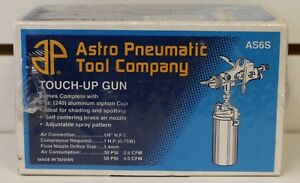 Astro Pneumatic Tool Company Model As6s Touch up Gun New Factory Sealed