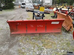 Western Ultra Mount 7 6 Ft Hydraulics Front Part Only Snow Plow Snowplow 1