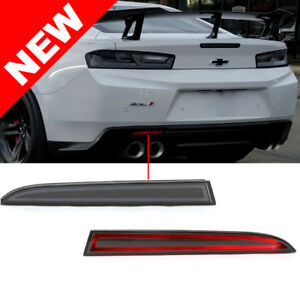 2016 Chevrolet Camaro Diffuser Rear Reflector Bumper Led Lights Red Led