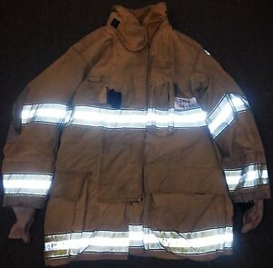 44x35 Firefighter Jacket Coat Bunker Turn Out Gear Globe Gxtreme J448 rescue1