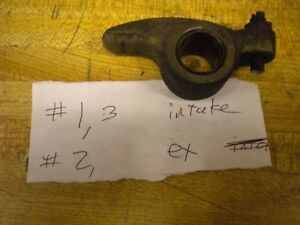 1981 Chevy Isuzu Luv Pup 2 2 Diesel 94029576 2 Ex 1 3 Int Rocker Arm