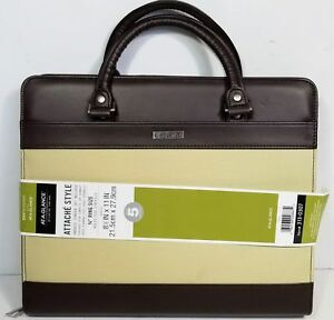 At a glance Day Runner Attache 8 5 X 11 Organizer 3 4 Ring Holds Size 5 Refil