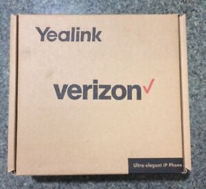 Verizon Yealink T41p Ip Desk Phone black new