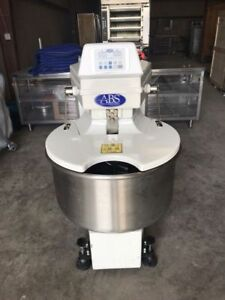 Abs Spiral Mixer Sm 80t Dough Mixer Bakery Bagel Donut American Baking Systems