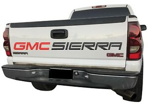 Tailgate Graphics Gmc Sierra Lettering For Truck Denali Window Or Bed Sign