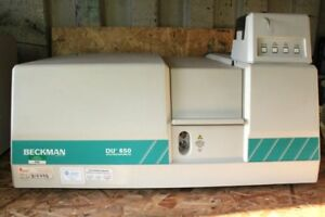 Complete Immaculate Beckman Coulter Du 650 Spectrophotometer W monitor