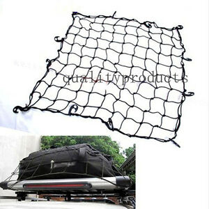 Car Suv Truck Trailer Elastic Bungee Roof Luggage Rack Basket Cargo Net For Jeep