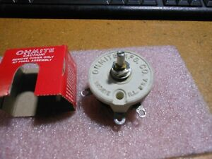 Ohmite Variable Resistor Part 1668422 Nsn 5905 00 164 9740 1668422 42800