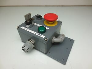Pushbutton Control Panel Box Telemecanique Zb2 be101 Zb2 be102 Z bv6