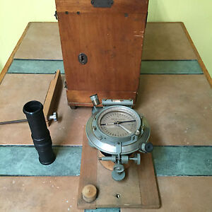 Kern Aarau High Accuracy Compass Made In Switzerland Surveyor
