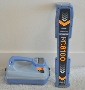 Spx Radiodetection Rd8100 Pdl Tx 10 Pipe Cable Locator Clean