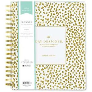 Day Designer For Blue Sky 2018 2019 Academic Year Daily Monthly Planner 8 X