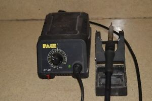 Pace St 25 St25 Soldering Station Iron Plus Stand