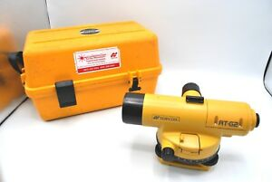 Topcon At g2 32x Automatic Level Autolevel Optical Surveying Tool W Case