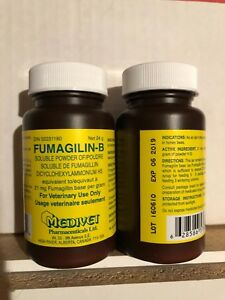 Fumagilin b 24 Gram Bottle Combats Nosema Disease Of Bees