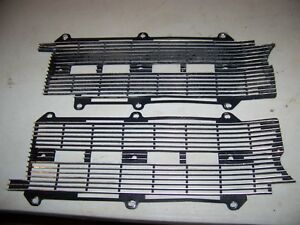 1964 Buick Wildcat Grill Inserts Oem